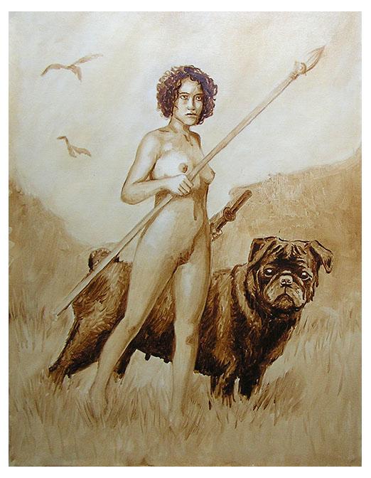 Huntress and Braveheart